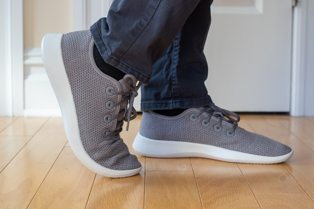 Allbirds Foot Range of Motion