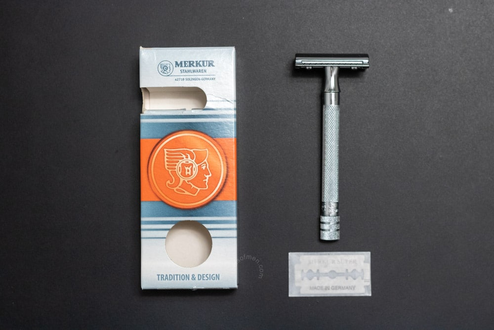 Merkur 23C Packaging