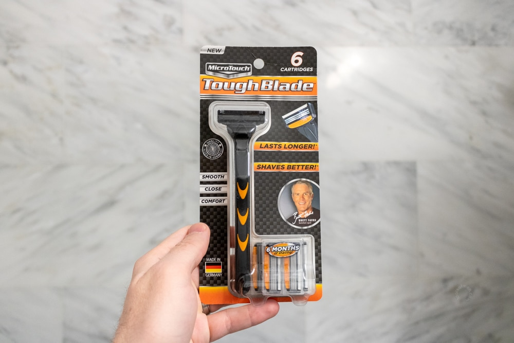MicroTouch Tough Blade Review - Packaging