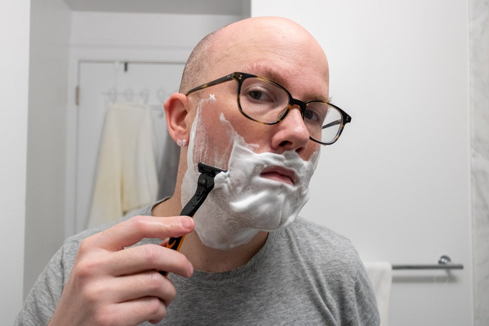 MicroTouch Tough Blade Review - Shaving