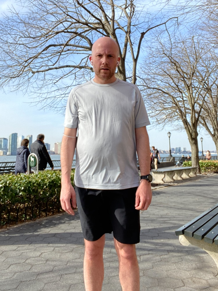 Session Tee and Movement Short Post Run 1