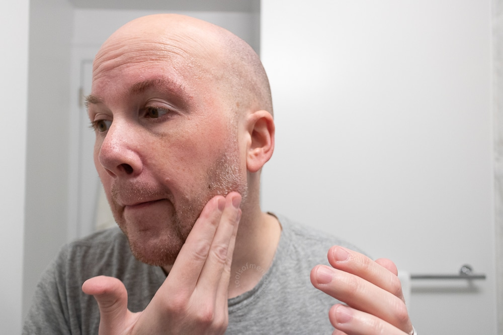 Ursa Major Review - Face Balm Application 2