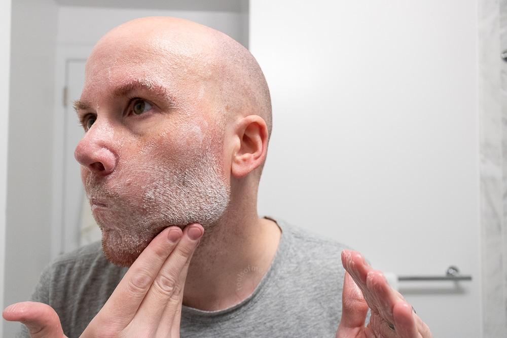 Ursa Major Review - Face Wash Application 1