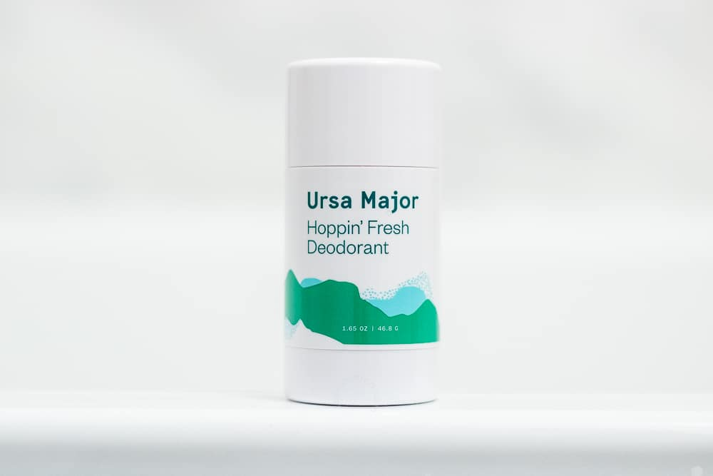 Ursa Major Review - Hoppin Fresh Deodorant Packaging