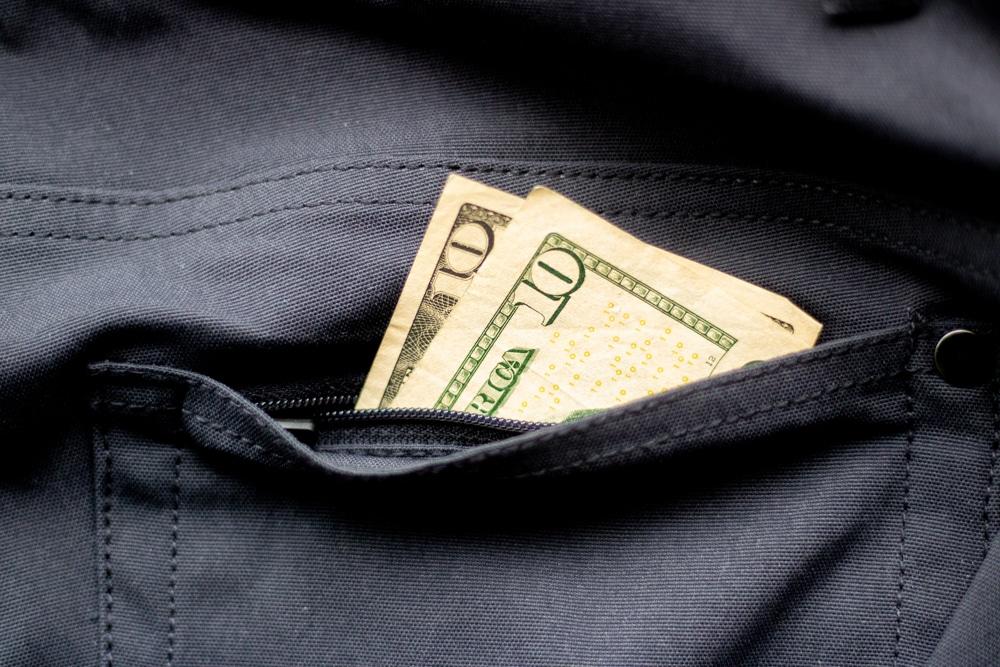 Western Rise AT Slim Money Pocket