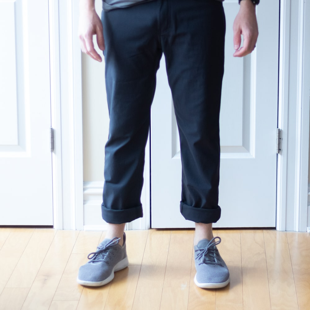 Western Rise - AT Slim Pants Cuffed
