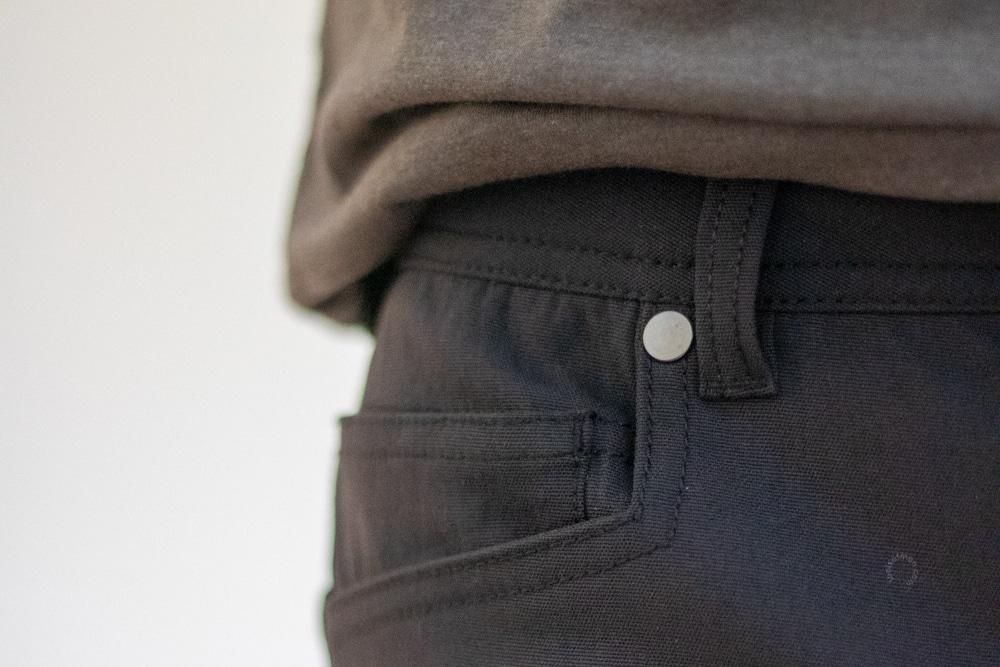 Western Rise AT Slim Pants - Rivets