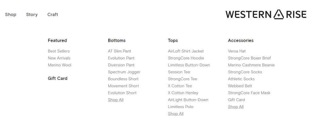 Western Rise Selection