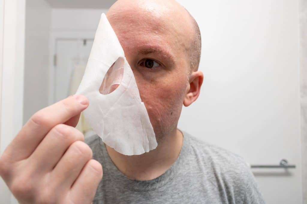 Cardon Face Mask Review - Removal