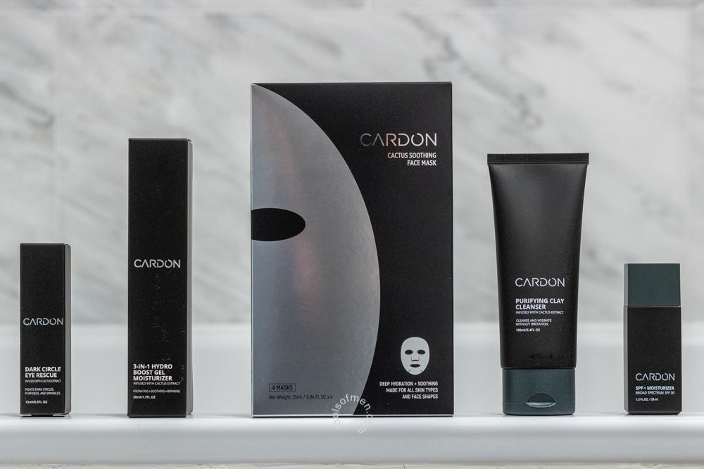 Cardon Skincare Packaging Review