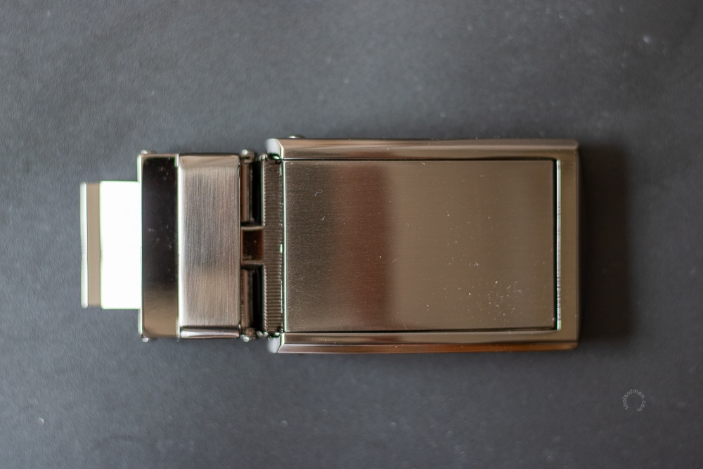 SlideBelts Review - Top Buckle