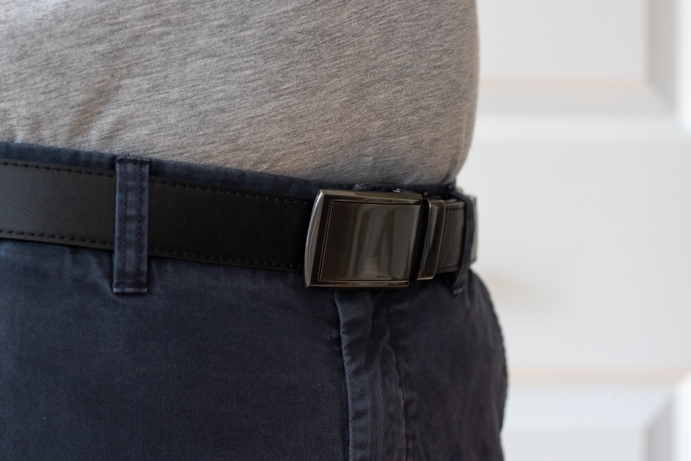 SlideBelts Review - Front Side View