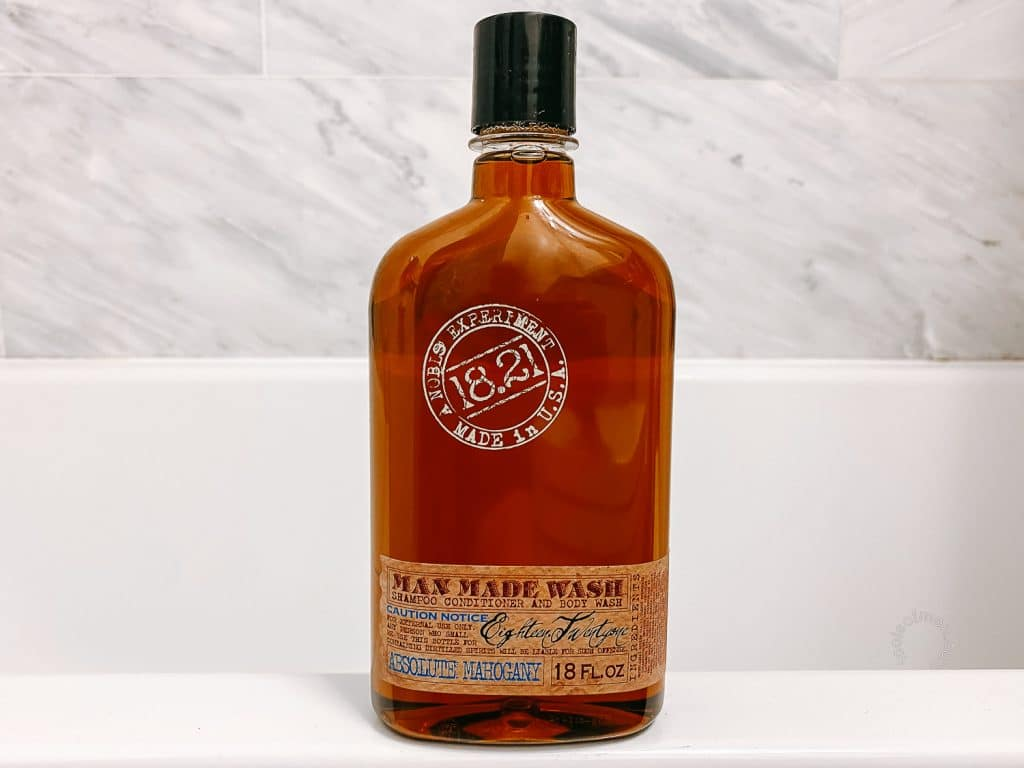 18.21 Man Made Body Wash Bottle Design