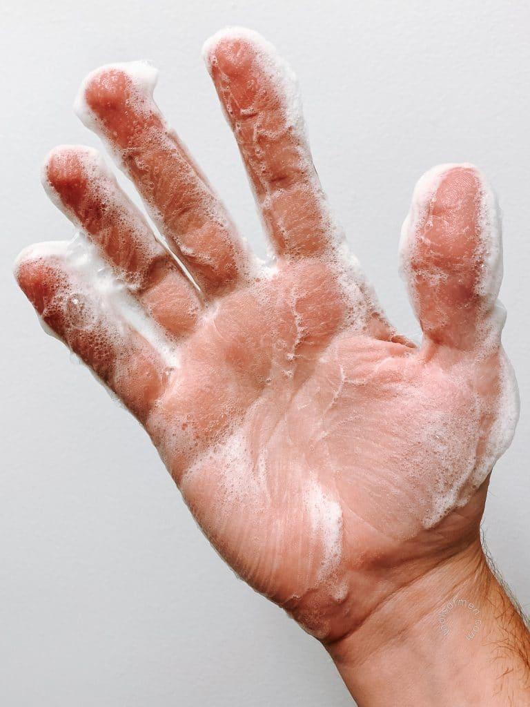 18.21 Man Made Body Wash - Lather
