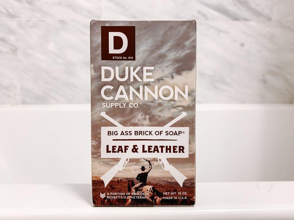 Duke Cannon Big Ass Brick of Soap Packaging