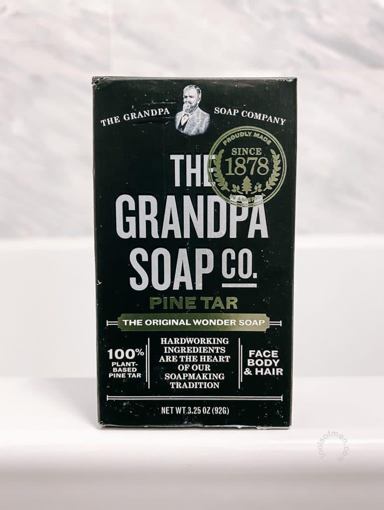 The Grandpa Soap Co Bar Soap Back Label