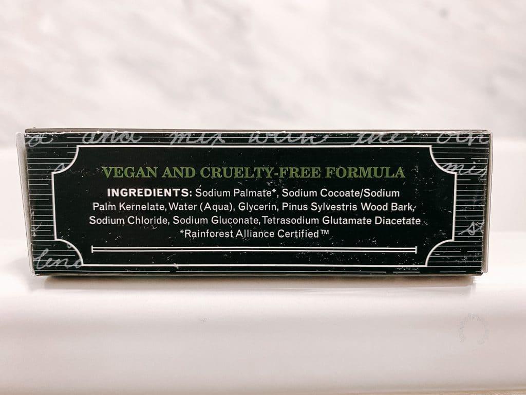 The Grandpa Soap Co Bar Soap Side Label