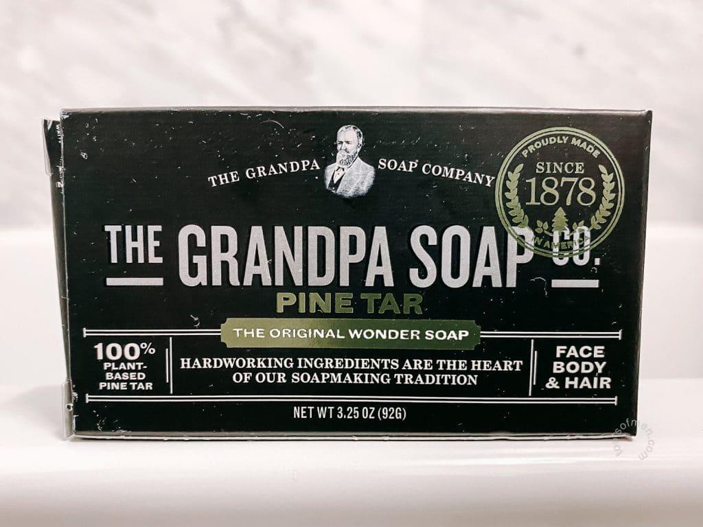 The Grandpa Soap Co Bar Soap Front Label