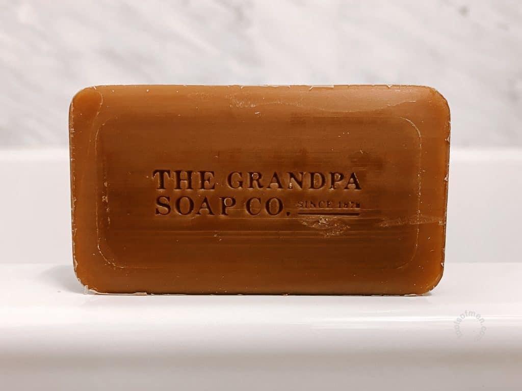 The Grandpa Soap Co Bar Back